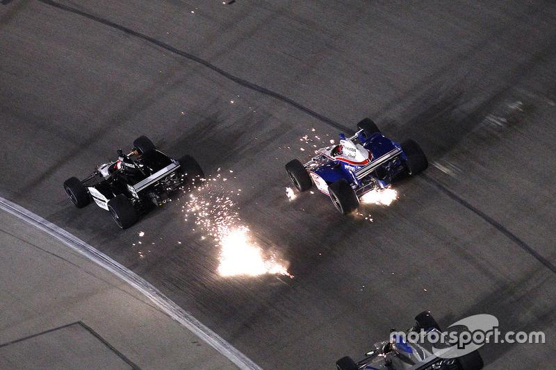 IndyCar, Fort Worth 2011: Wade Cunningham und Helio Castroneves