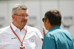 Ross Brawn, sportief directeur FOM