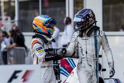 Fernando Alonso, McLaren, tercero, Lance Stroll, Williams