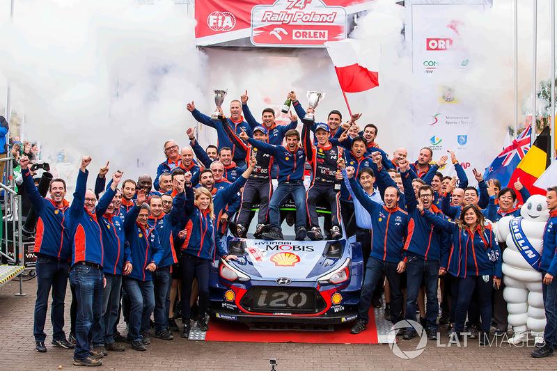 1. Thierry Neuville, Nicolas Gilsoul, Hyundai Motorsport