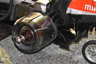 Ferrari SF71H, rear rim