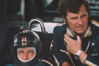 David Purley et son team manager Mike Earle