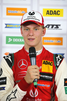 Press conference, Mick Schumacher, PREMA Theodore Racing Dallara F317 - Mercedes-Benz