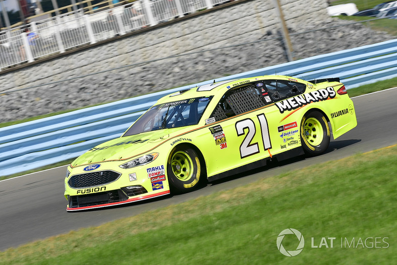37. Paul Menard, Wood Brothers Racing, Ford Fusion Menards / Sylvania