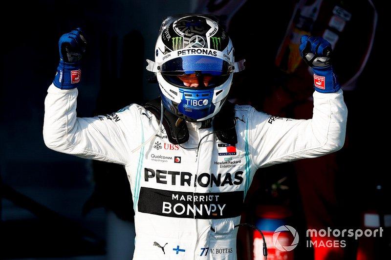 Переможець Валттері Боттас, Mercedes AMG F1
