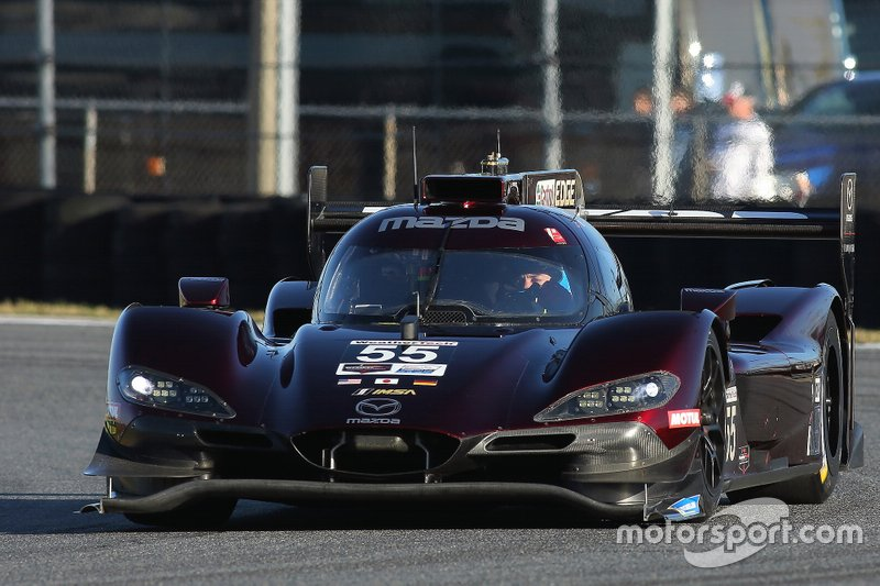 #55 Mazda Team Joest Mazda RT24-P: Jonathan Bomarito, Harry Tincknell, Olivier Pla