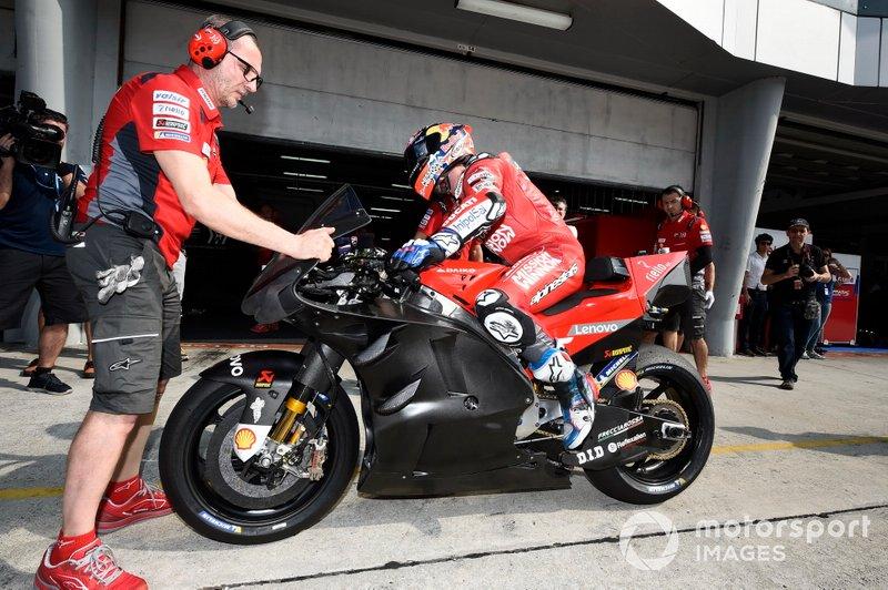 Ducati Team, new fairing