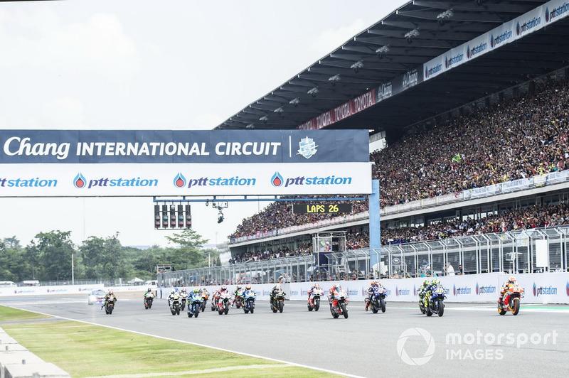 #1 GP de Thaïlande : 222'535 spectateurs