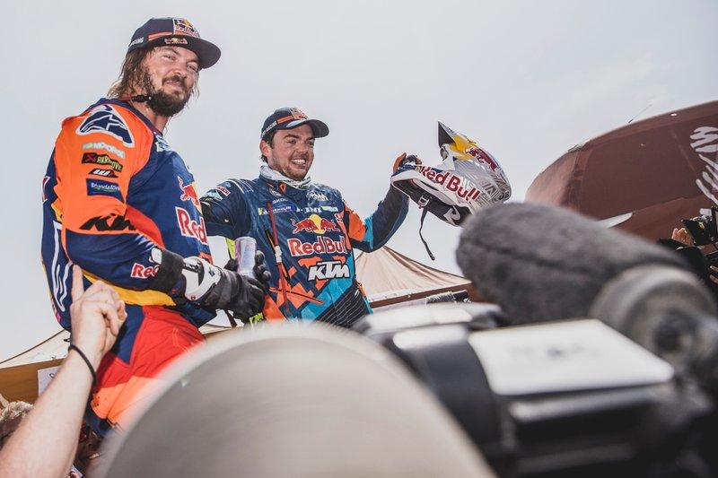 #1 Red Bull KTM Factory Team: Matthias Walkner, Toby Price