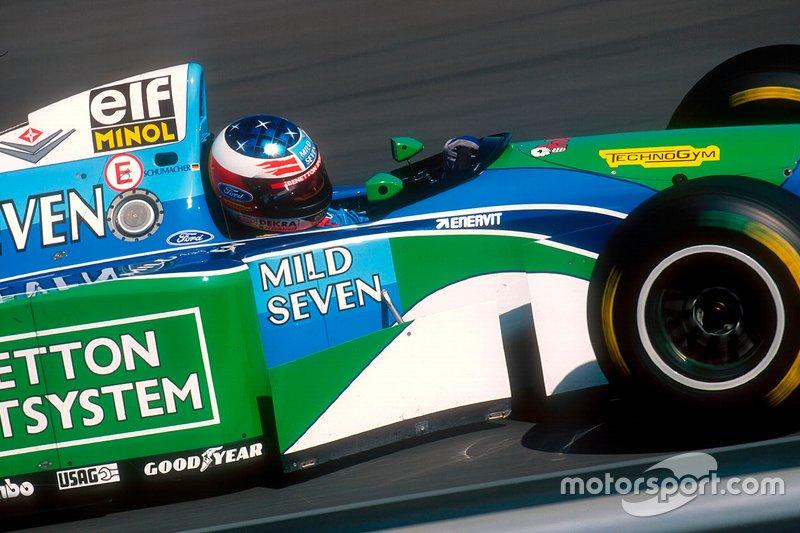 #4 GP de Hongrie 1994 (Benetton B194)