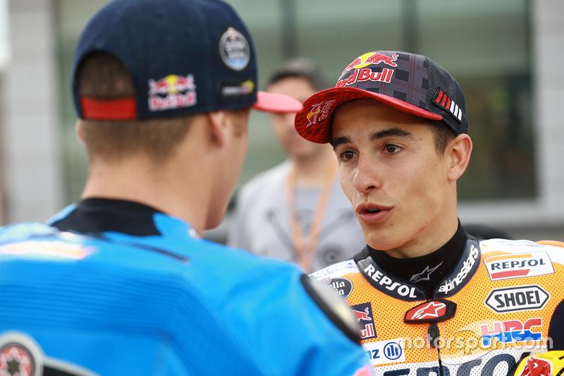 Jack Miller, Estrella Galicia 0,0 Marc VDS; Marc Marquez, Repsol Honda Team