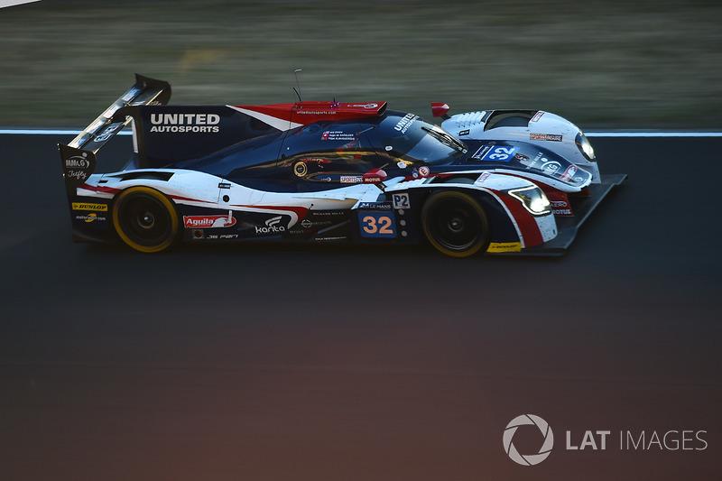 №32 United Autosports Ligier JS P217 Gibson: Уилл Оуэн, Юго де Саделер, Филипе Альбукерк