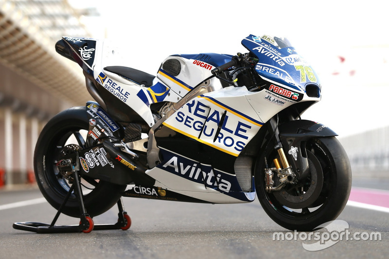 la Ducati de Loris Baz, Avintia Racing