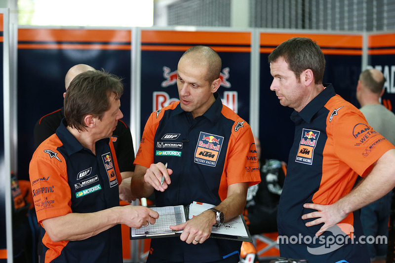 Mike Leitner, Tom Jojic, , Red Bull KTM Factory Racing