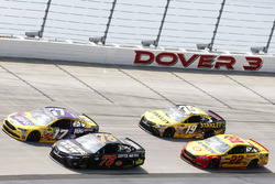 Martin Truex Jr., Furniture Row Racing, Toyota; Ricky Stenhouse Jr., Roush Fenway Racing, Ford; Joey Logano, Team Penske, Ford; Daniel Suárez, Joe Gibbs Racing, Toyota