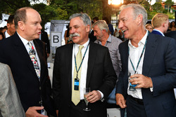 HSH Prince Albert of Monaco, and Chase Carey, Chief Executive Officer and Executive Chairman of the