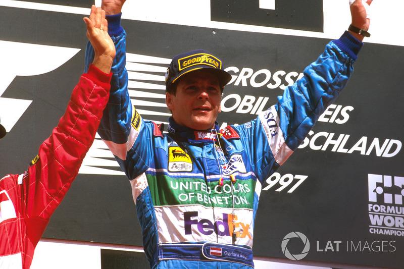 Подіум: Герхард Бергер, Benetton Renault