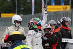 Gary Paffett Mercedes-AMG Team HWA, Mercedes-AMG C63 DTM after the crash