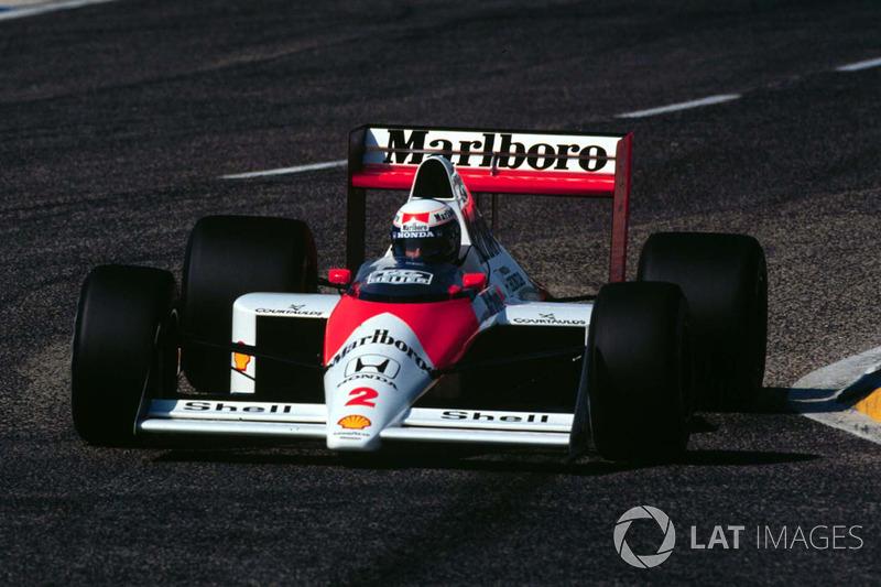 #22: Alain Prost, McLaren MP4/5, Le Castellet 1989: 1:07,203