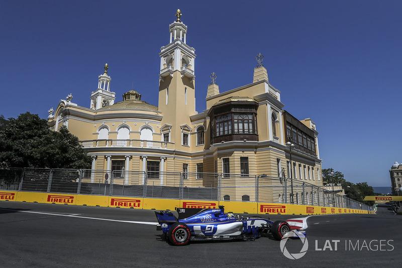 19º Marcus Ericsson, Sauber C36 (0 puntos)
