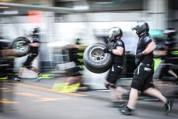 Simulations d'arrêts au stand pour Mercedes AMG F1