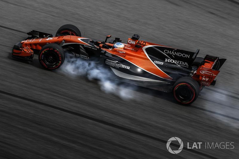 5. Fernando Alonso, McLaren MCL32