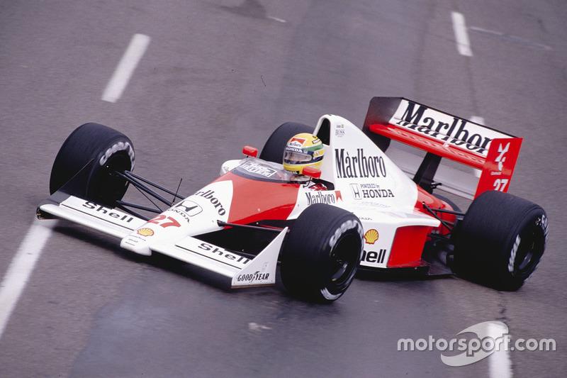 1990: Ayrton Senna (McLaren MP4/5B Honda)