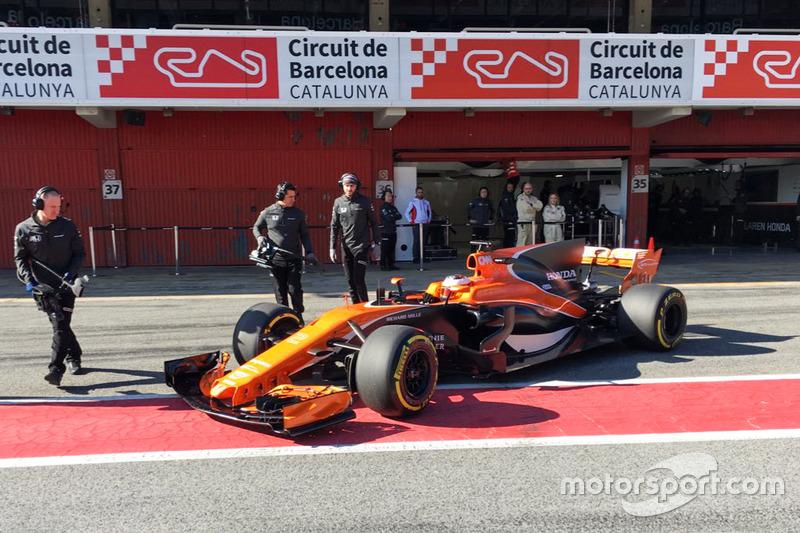 Formula 1 Test Barcellona, day 1