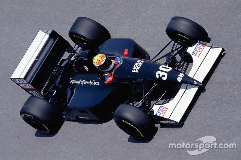 J.J. Lehto, Sauber C12 Ilmor, 1993