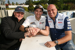 Xavier Simeon, Avintia Racing, Freddy Tacheny, PDG de Zelos, Raúl Romero, PDG d'Esponsorama