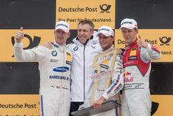 Podium: 1. Bruno Spengler, BMW Team RBM, BMW M4 DTM, 2. Maxime Martin, BMW Team RBM, BMW M4 DTM, 3. Mattias Ekström, Audi Sport Team Abt Sportsline, Audi A5 DTM, Bart Mampaey, BMW Team RBM