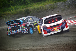 Андреас Баккеруд, Hoonigan Racing Division Ford, Себастьян Льоб, Team Peugeot Hansen