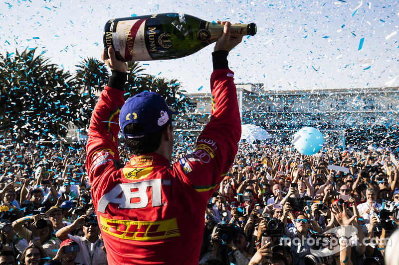 3. Podio ganador Lucas Di Grassi, ABT Schaeffler Audi Sport