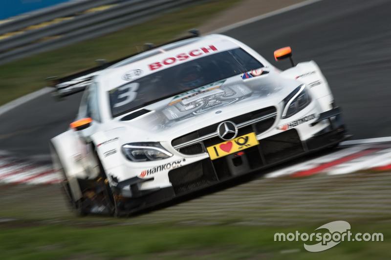 Ausfall: Paul Di Resta, Mercedes-AMG Team HWA, Mercedes-AMG C63 DTM