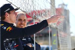 Max Verstappen, Red Bull Racing con Gianpiero Lambiase, Red Bull Racing ingeniero