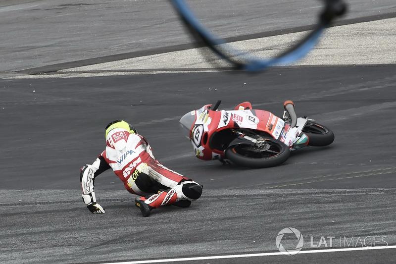 Caída de Maximilian Kofler, Motorsport Kofler E.U.