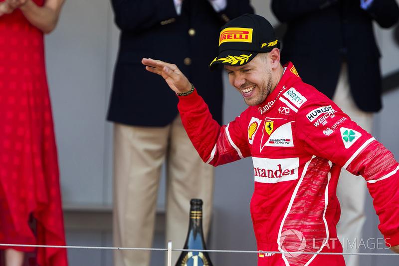 6. GP de Mónaco 2017: Sebastian Vettel (1º)