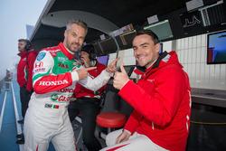 Michelisz Norbert és Tiago Monteiro