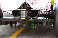 Sahara Force India VJM10, Heckdiffusor, Aero-Farbe