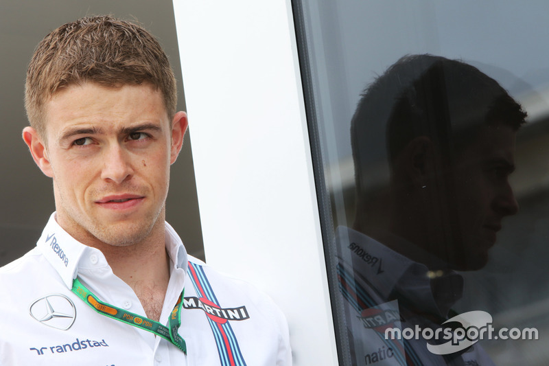 Paul di Resta, Williams Reservecoureur