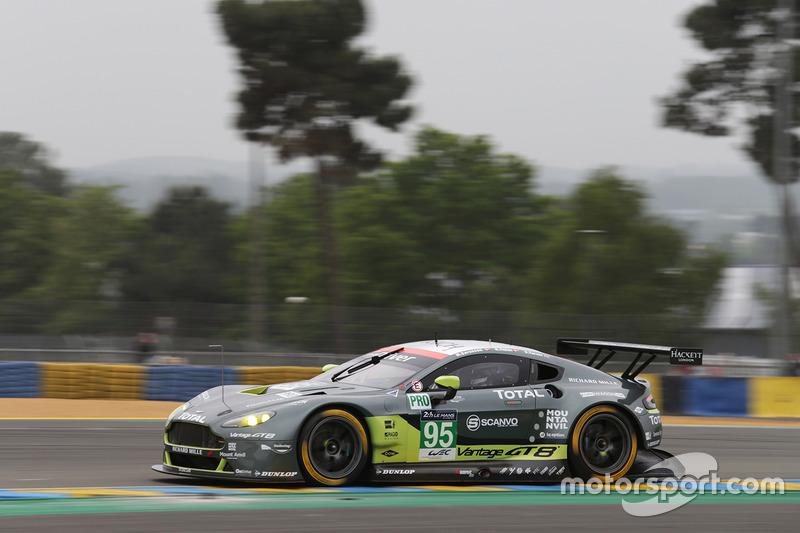 42: #95 Aston Martin Racing Aston Martin Vantage: Nicki Thiim, Marco Sorensen, Darren Turner