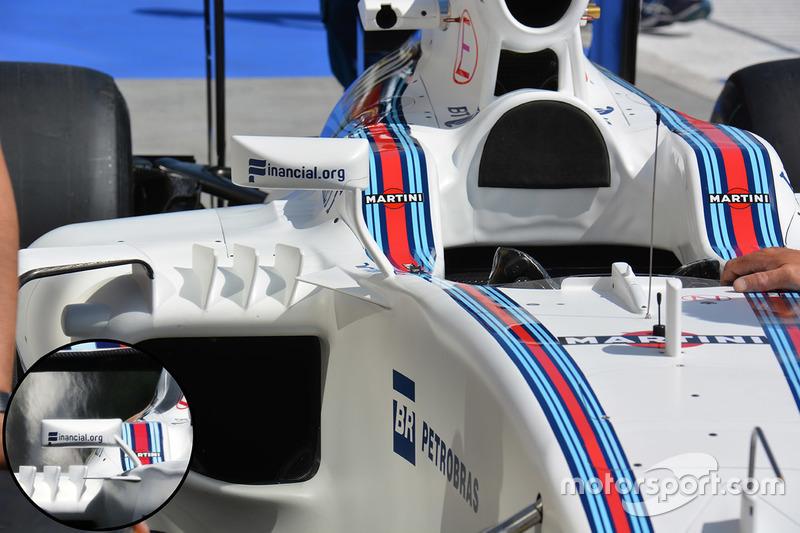Williams FW38 Mirror Comparison