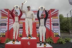 TPAM podium: winner Steve Johnson, second place Patrice Brisebois, third place Arthur Romanelli