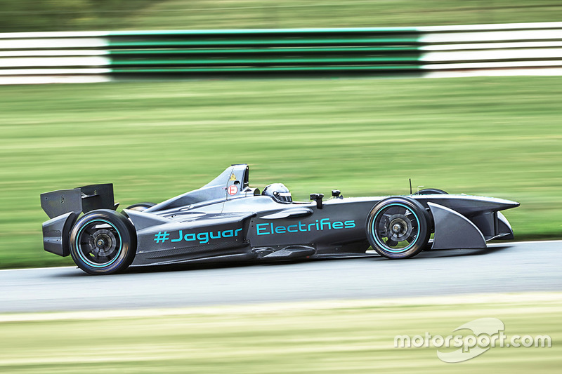 Pruebas Jaguar Fórmula E