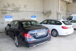 السيارات الخاصة بسائقي فريق هاس