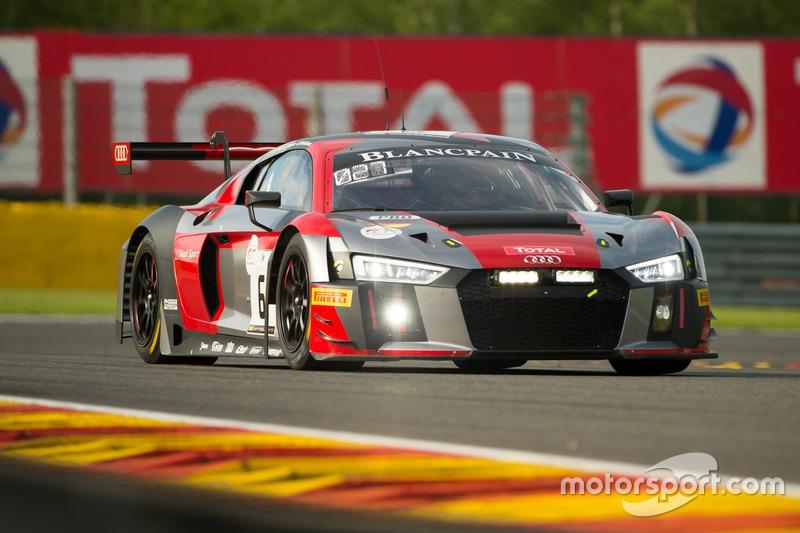 Audi Team Phoenix Audi R LMS Christopher Mies Frank Stippler - Audi phoenix