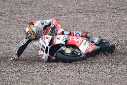 Sturz: Danilo Petrucci, Pramac Racing