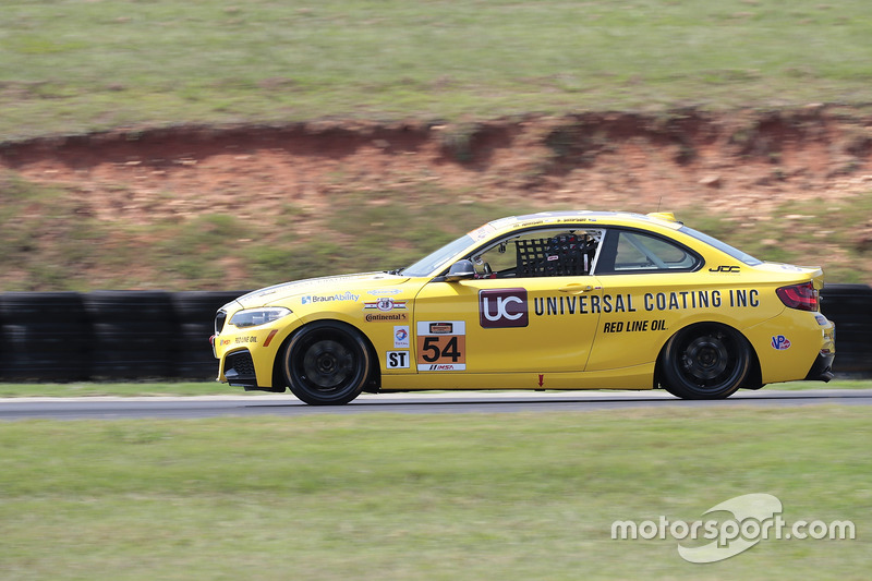 #54 JDC-Miller Motorsports BMW 228i: Michael Johnson, Stephen Simpson