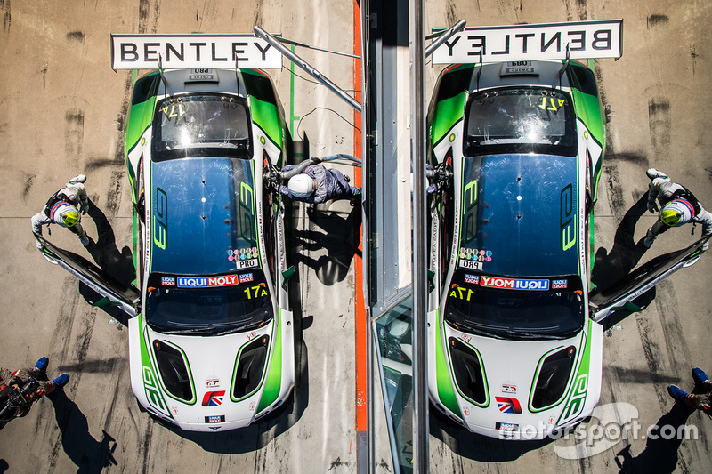 Bentley Team M-Sport, Bentley Continental GT3 (№17)