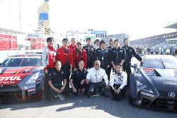 Masaki Bando, Chairman GTA in the starting grid
